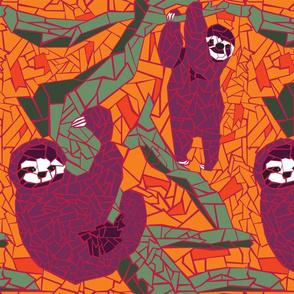 Sloth Mosaic