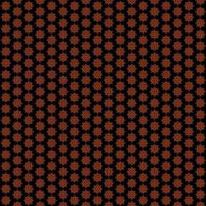 Mandala - Seedpod in Autumn - Ditsy Print Size
