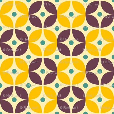 Geometric Pattern: Stylised Flower: Veronica