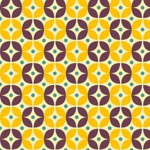 Geometric Pattern: Stylised Flower: Veronica