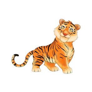 """18"""" Tiger Design"""