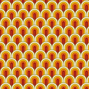 Geometric Pattern: Art Deco Arch: Sunset (standard version)