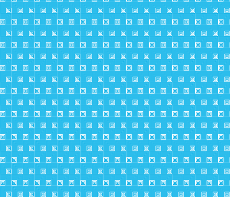 Geometric Pattern: Square Angle: Blue fabric by red_wolf on Spoonflower - custom fabric