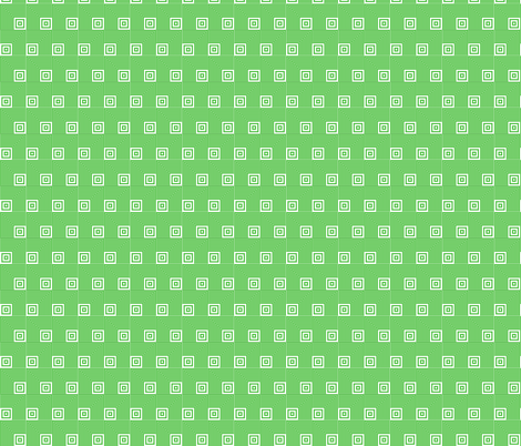 Geometric Pattern: Square Angle: Green fabric by red_wolf on Spoonflower - custom fabric