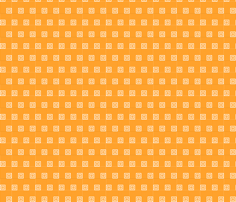 Geometric Pattern: Square Angle: Orange fabric by red_wolf on Spoonflower - custom fabric
