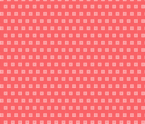 Geometric Pattern: Square Angle: Red fabric by red_wolf on Spoonflower - custom fabric