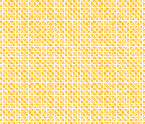 Geometric Pattern: Leaf: Yellow/White fabric by red_wolf on Spoonflower - custom fabric