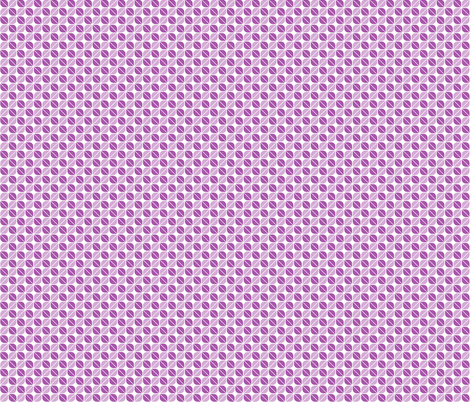 Geometric Pattern: Leaf: Purple/White fabric by red_wolf on Spoonflower - custom fabric