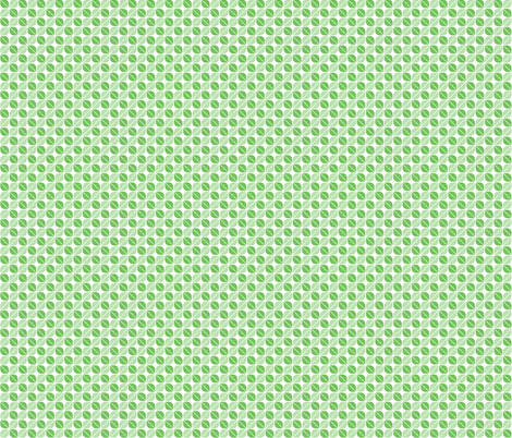 Geometric Pattern: Leaf: Green/White fabric by red_wolf on Spoonflower - custom fabric