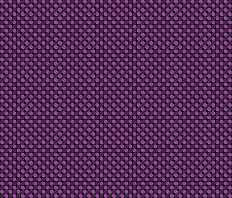Geometric Pattern: Leaf: Purple/Black fabric by red_wolf on Spoonflower - custom fabric