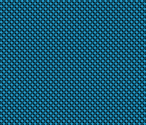 Geometric Pattern: Leaf: Blue/Black fabric by red_wolf on Spoonflower - custom fabric