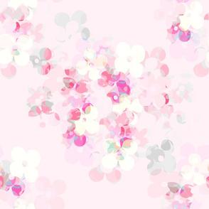 Fiori di carta - pale pink