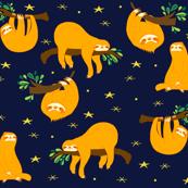 Adoring sloth.