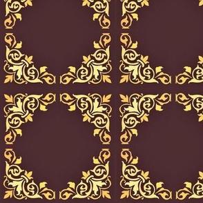 Victorian tile pattern