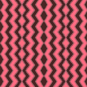Pink and Brown Ripple Swirl
