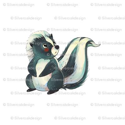 "18"" Skunk Design"