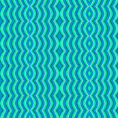 Blue and Green Scoop Swirl