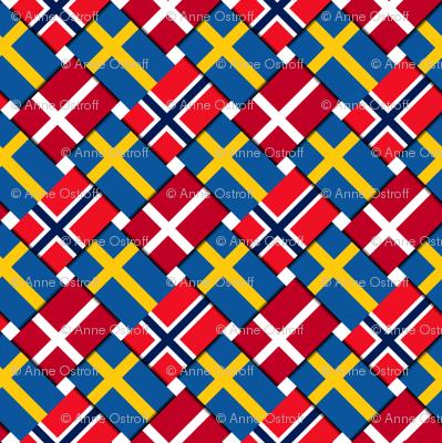 Scandinavian Flag Weave