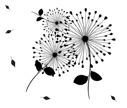 dandilion fabric by female_farmer on Spoonflower - custom fabric