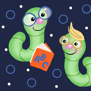 Reading by Soft Glow / Bookworm/Glowworm - Lg. FQ Panel