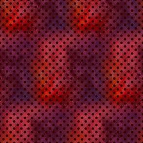 COORDINATE CHINESE ZODIAC DOTTY CORAL WATERMELON RED FLWRHT METALLIC EFFECT