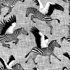 Black and White Zebrasus