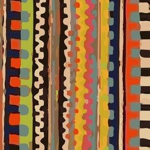 Loomy Handpainted Stripes