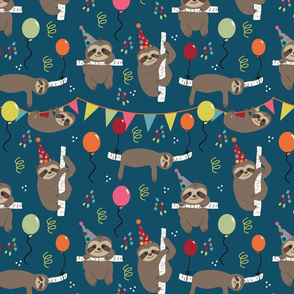 Birthday Sloths