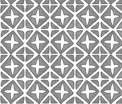 plus and minus fabric by fiberdesign on Spoonflower - custom fabric