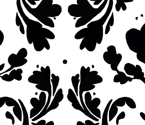A BECKY ARABESQUE fabric by nadinewestcott on Spoonflower - custom fabric