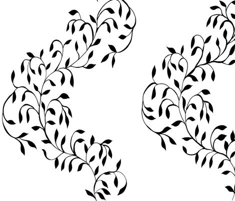 Mira Stripe fabric by poolofblue on Spoonflower - custom fabric