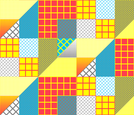 One block away (Helsinki) fabric by amgroulx on Spoonflower - custom fabric