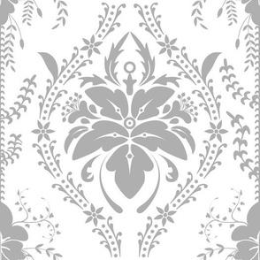 Damascus retro vintage ornamental decor pattern