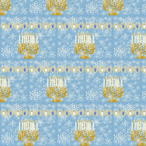 Hanukkah lights 2
