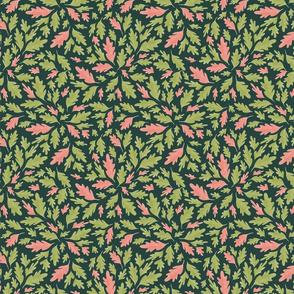 Woodland Leaves (Pink)