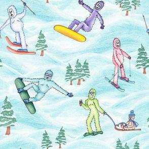 SkiingYeti