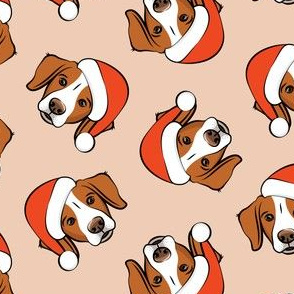 Christmas Brittanys - blush