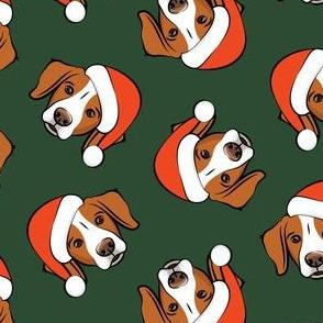 Christmas Brittanys - dark green