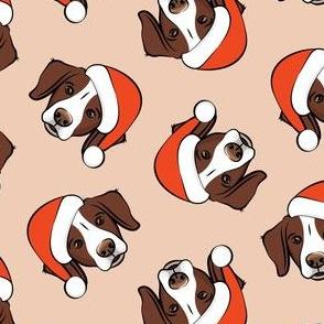 Christmas Brittanys (liver) - blush