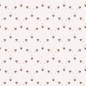 Geometric Rustic Stars Lino Cut Texture