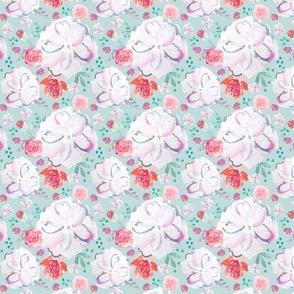 IBD Sweetheart Florals Glacier2.5x2.5