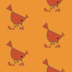 Bird Pecking