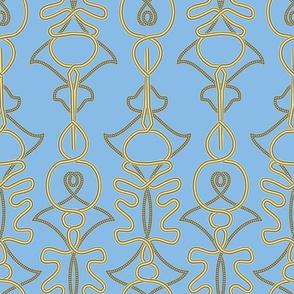 Primitive Trellis Blue
