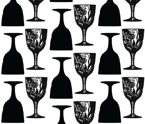 Bottoms up! fabric by jerseymurmurs on Spoonflower - custom fabric