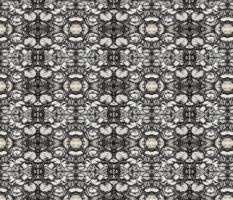 lilypadbw3 fabric by judio_studio on Spoonflower - custom fabric