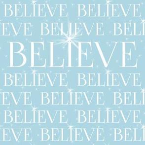 Believe aqua