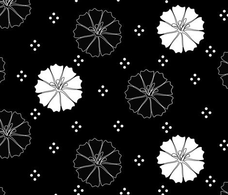 Flowers fabric by everhigh on Spoonflower - custom fabric
