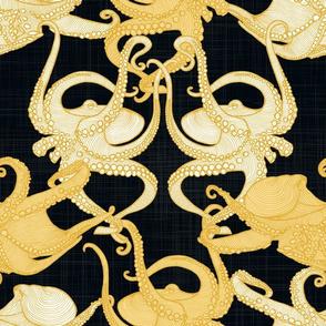 Cephalopod - Octopi smaller - Night Treasure