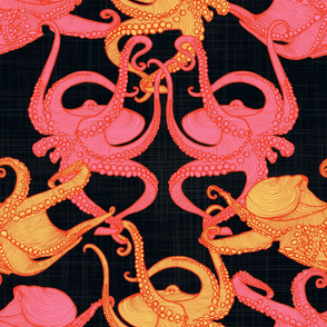 Cephalopod - Octopi - Night Light