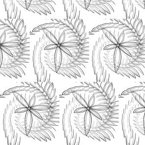 Bl & W Pinwheels